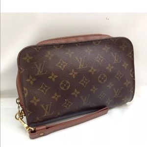 Authentic LV Orsay Clutch bag